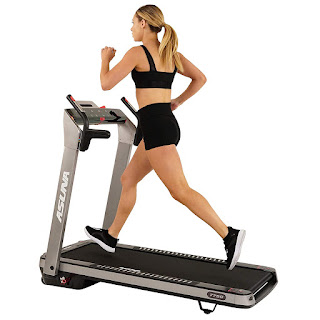 Sunny Health & Fitness Asuna SpaceFlex 7750 Electric Treadmill (Gray), image, review features & specifications plus compare with 7750P
