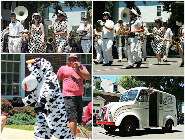 Banda Música de la Vaca Desfile 4 de Julio Bristol