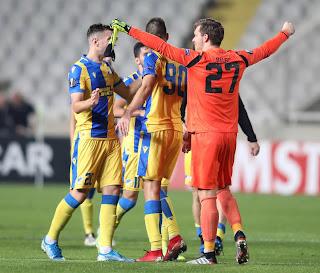 «ΤΑΥΤΟΤΗΤΑ ΑΓΩΝΑ - MVP Και Ποιοι Ξεχώρισαν» ΑΠΟΕΛ 2-1 QARABAGH, Uefa Europa League