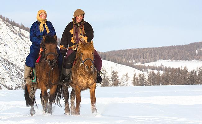 Salju Mongolia