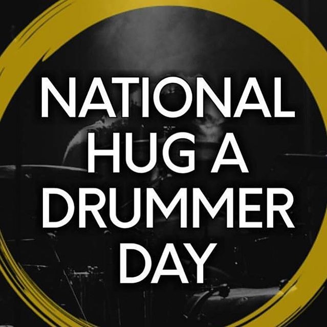 National Hug a Drummer Day Wishes Awesome Picture