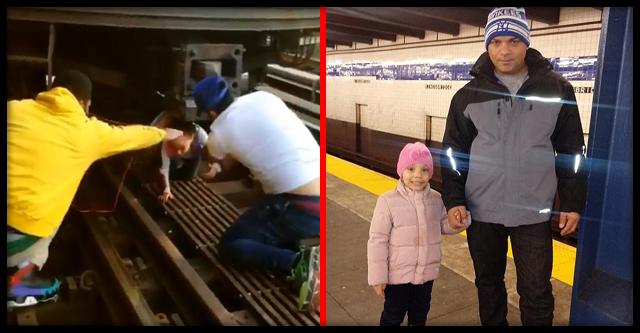 Отец прыгнул под поезд, «захватив» на тот свет 5-летнюю дочь!