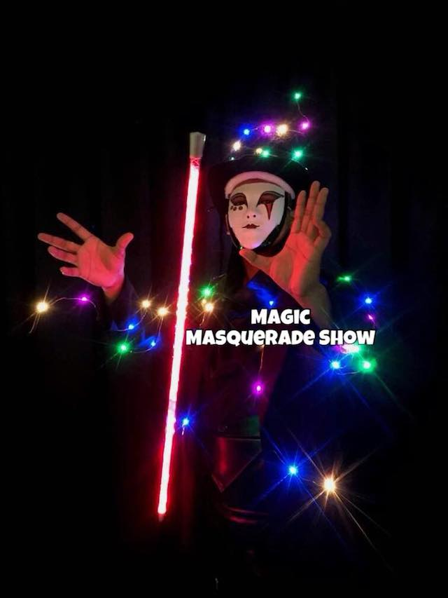 Magic Masquerade Show happening during 1 Mont Kiara's Earth Hour event
