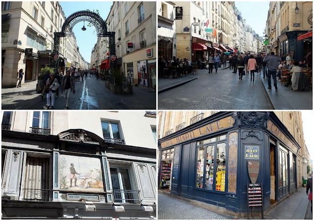 rue Montorgueil, París