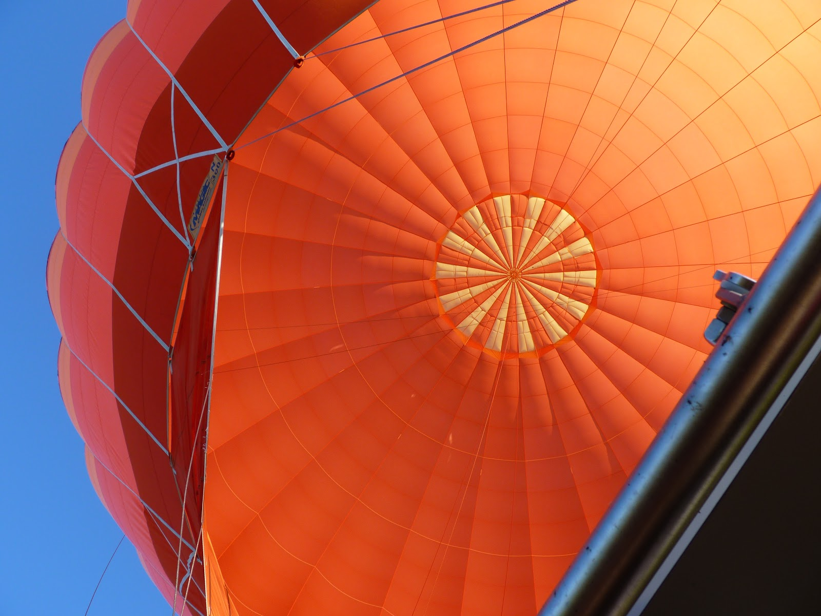 Vol en montgolfière, juin 2018