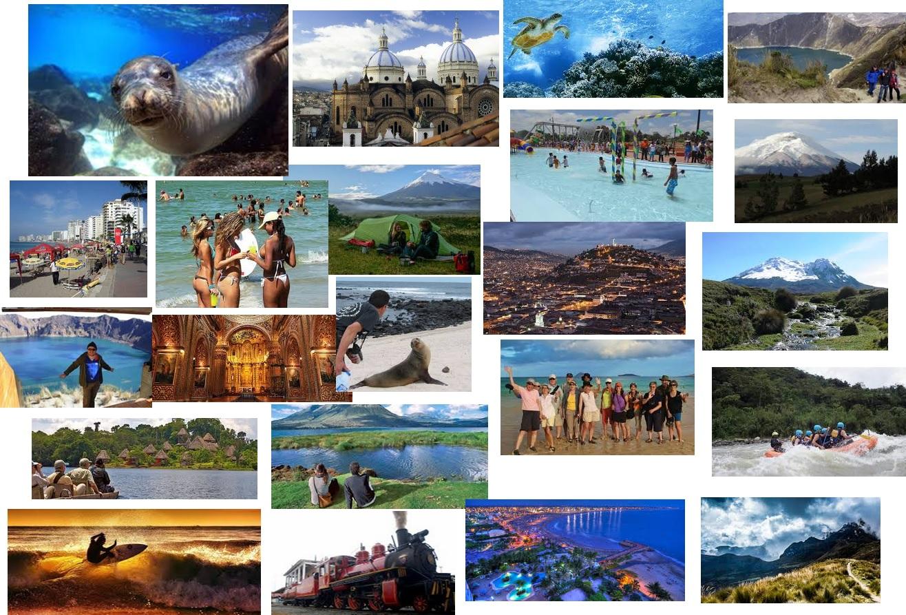 Feriado turístico en Ecuador