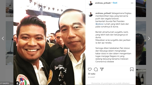 Andreau Pribadi, Staf Edhy Prabowo yang Kini Buron Ternyata Anggota Tim Pemenangan Jokowi