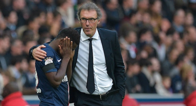 Une confrontation Serge Aurier / Laurent Blanc