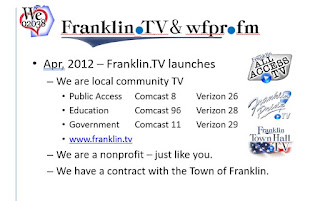 Franklin TV presentation and overview