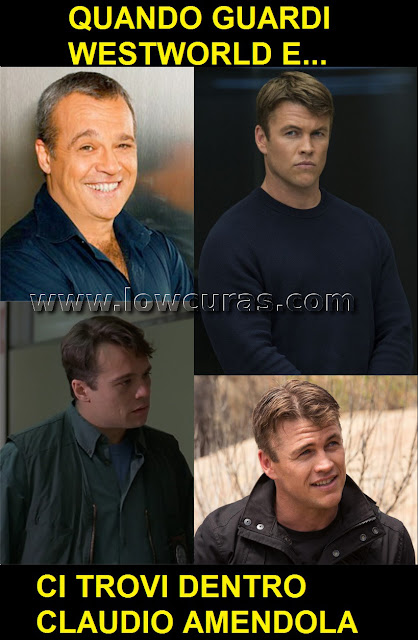 Claudio Amendola e Luke Hemsworth