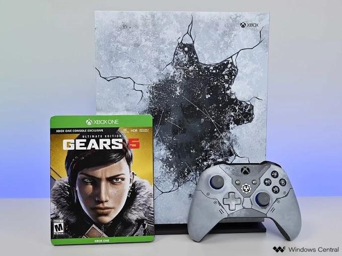 Entre no Sorteio da edição limitada do Xbox One X Gears 5