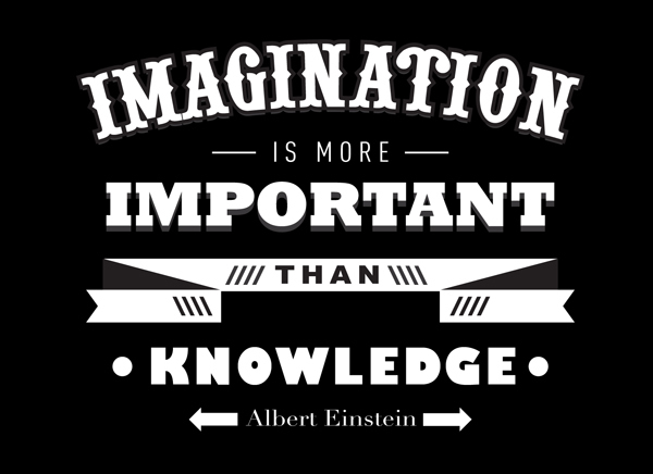 essay imagination better than knowledge Mba college admissions essays - imagination is more important than knowledge.