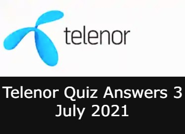 3 July Telenor Answers Today