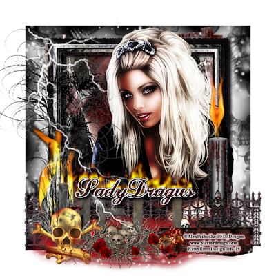 Devil's Playground - A signature tag made by Trish Schaffer aka Lady Dragus