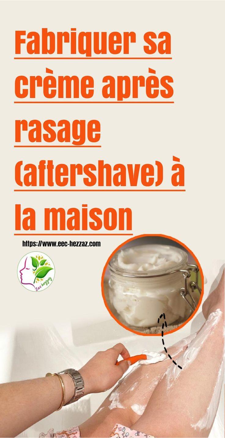 Fabriquer sa crème après rasage (aftershave) à la maison