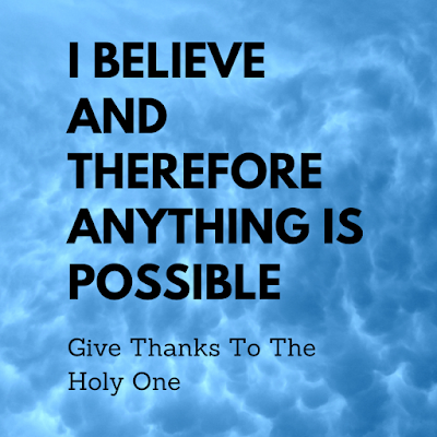 Give Thanks To The Holy One Inspirational Quote September 6 2020