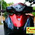 Sơn xe Honda Sh màu đỏ đen cực đẹp [SH_SG2060]