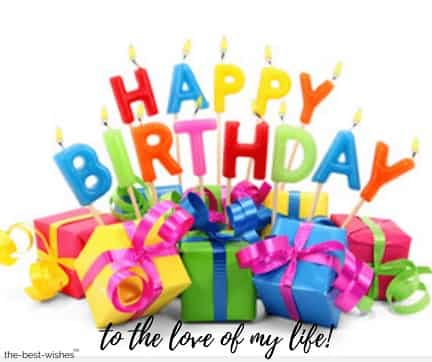 happy birthday greetings for a wife