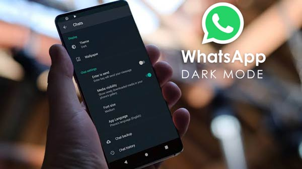 WhatsApp Dark Mode feature now available for Android and iOS users here is how to turn it on