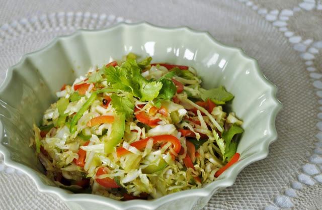 Szechuan Hot Sour Cabbage