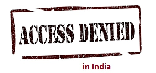 access denid of 40 websites in india , government has baned 40 website in our country, updated24.com