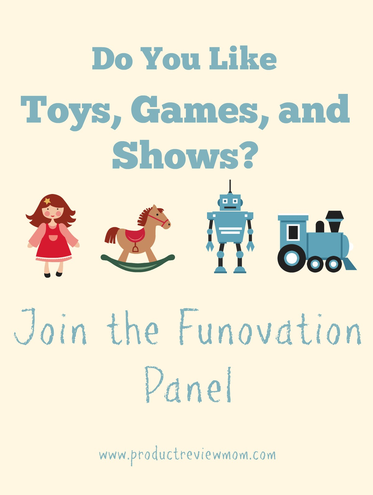 Do You Like Toys, Games, and Shows?  Join the Funovation Panel