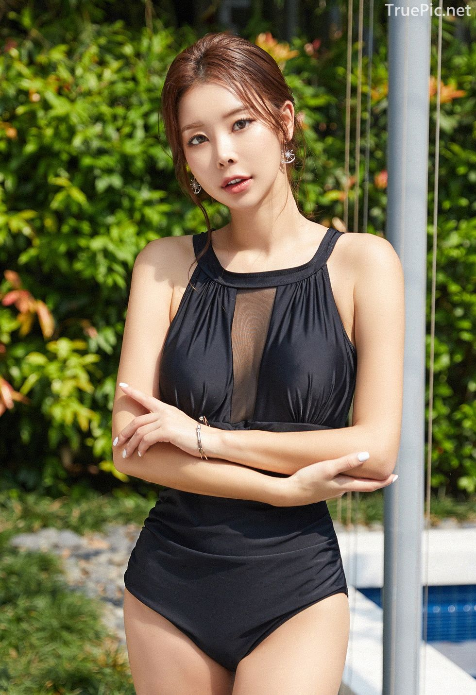 Korean model and fashion - Park Da Hyun - Chloesee Swimsuit Set - Picture 2