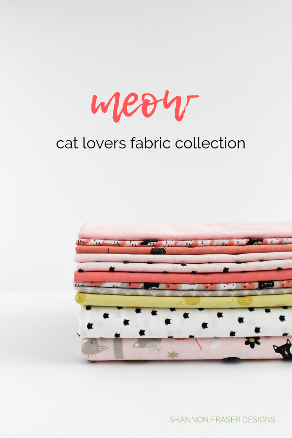 Meow Collection by Riley Blake Designs | Shannon Fraser Designs
