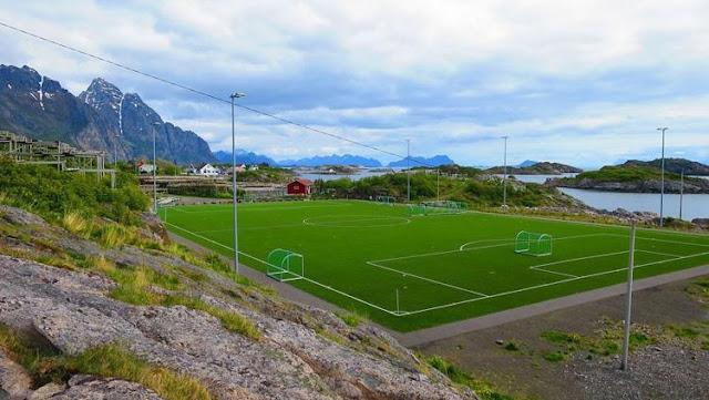 Stadion terindah di pulau kecil di Eropa