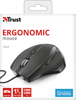 TRUST MOUSE TRAX WIRED 22931