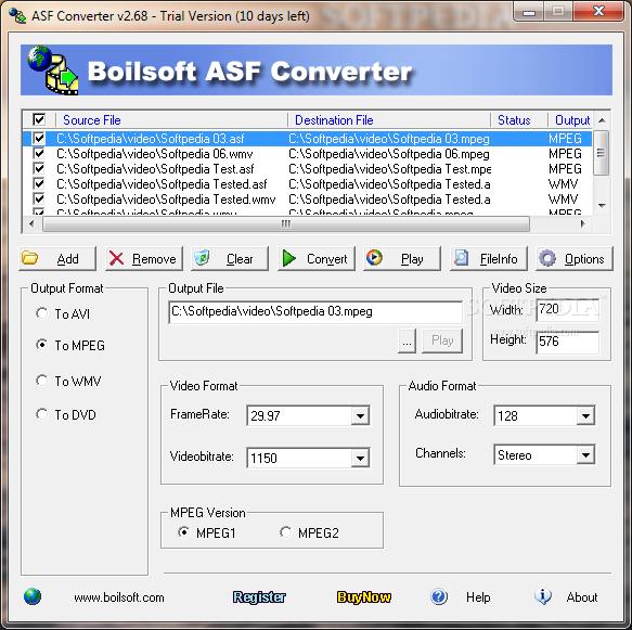 تحميل برنامج محول ملفات ASF للكمبيوتر ASF Converter 2.68