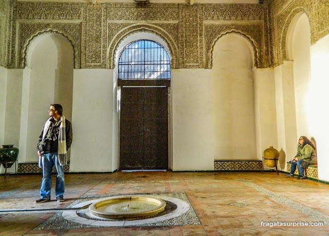 Fonte no interior do Palácio Mudéjar do Real Alcázar de Sevilha