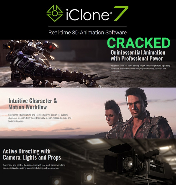 ICLONE 7.72.3818.1 Full Version