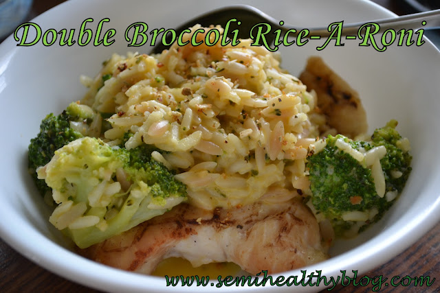 double broccoli Rice-A-Roni