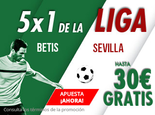 suertia promocion Betis vs Sevilla 2 septiembre