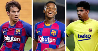 Barcelona Young stars reportedly to drop down to Barca B and help with promotion