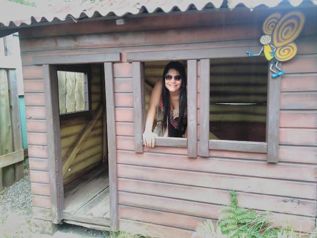 casa de bonecas em tamanho real
