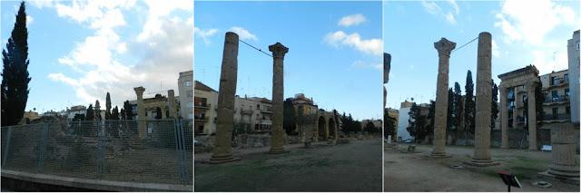 Patrimônios da UNESCO em Tarragona (Espanha) - Foro colonial de Tarraco
