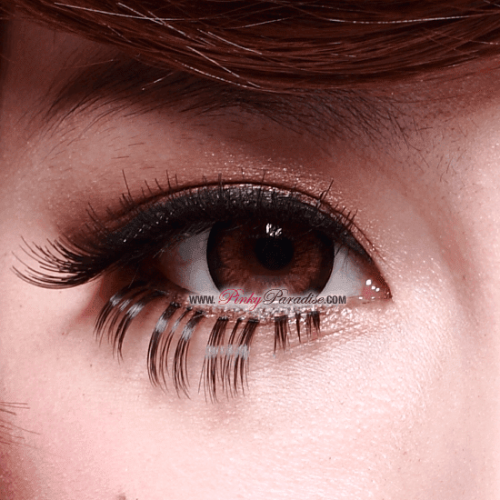 G&G Blossom Brown Circle Lenses Close-up