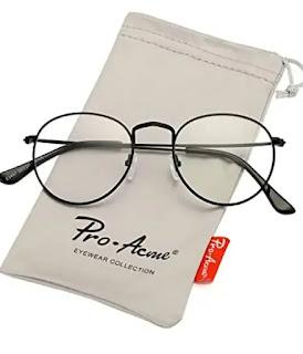 frame unisex circle eyeglasses