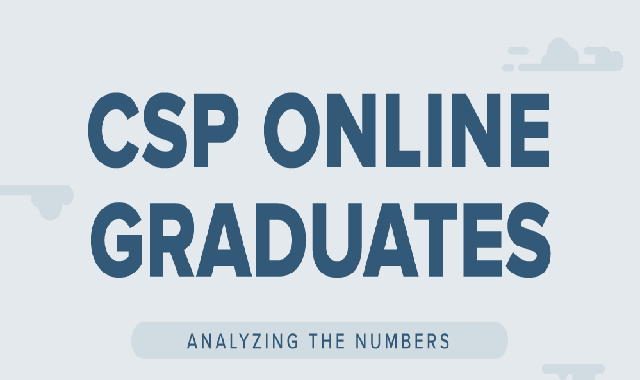 CSP Online Graduates: Analyzing the Numbers #infographic