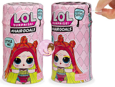 Newest L.O.L. Surprise Hair Goals wave 2 capsules 2019