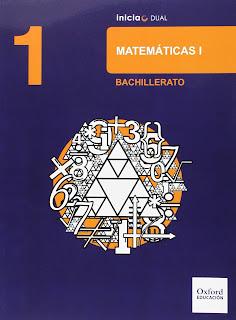 Libro Matemáticas 1º Bachillerato Oxford Proyecto Inicia Dual