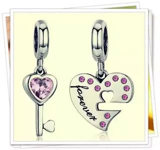 pareri talisman din argint cu Double Heart Key forum preturi eden boutique