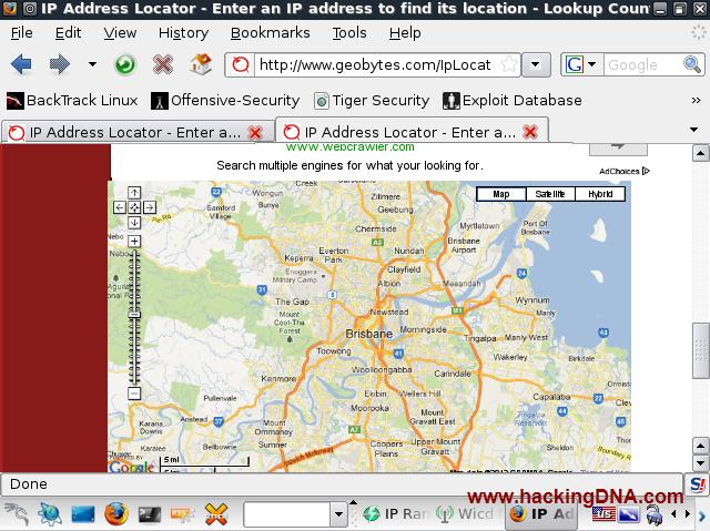 GEOIP LOCATE WITH ANGRY IPSCAN