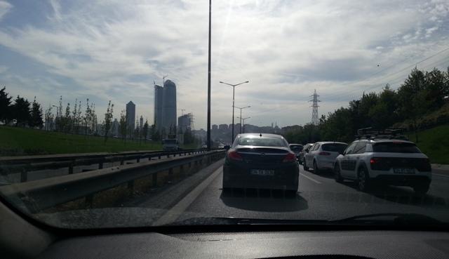 İstanbul trafiğinden bir kare @blogtecrübem