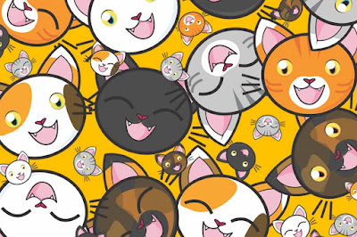 Figure: Can we purr-suade you to count the cats in this one?