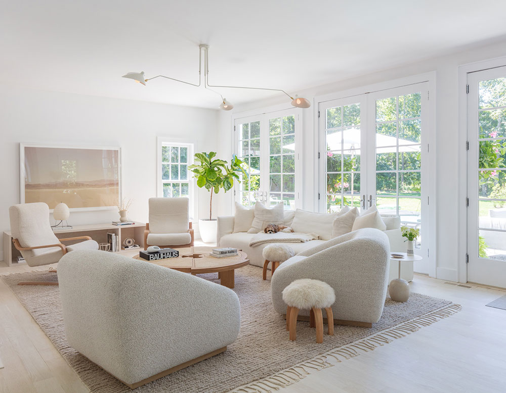 Clover Leaf – An airy and bright house in New York state