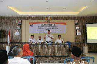MUSRENBANG Tingkat Kelurahan Tahun 2020 di Kantor Kelurahan Kampung Empat Kota Tarakan - Tarakan Info