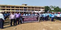 शिक्षक महासङ्घद्वारा हत्याको विरोधमा प्रदर्शन
